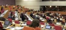 Séance plénière au Conseil régional d'Ile-de-France